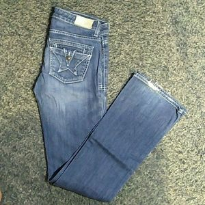 PEOPLES LIBERATION Tanya Boot Cut Jeans Size 25